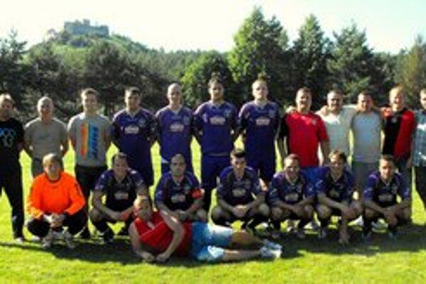 Hráči FK Krh. Podhradie.