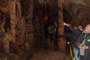 Jaskyňa Domica patrí medzi najkrajšie jaskyne na Slovensku.