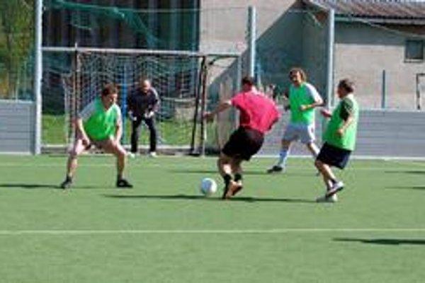 Športy. Na viacúčelových ihriskách si ich budú môcť zahrať všetky vekové kategórie.