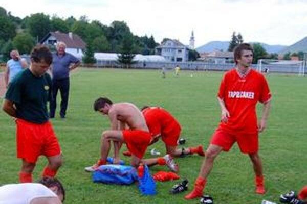 Poctivá príprava. Peter Konček  si v krátkej letnej príprave počínal dobre a zúčastnil sa všetkých tréningových jednotiek.