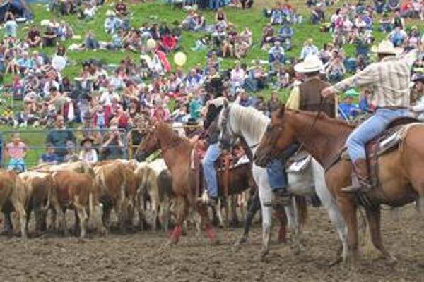 Rodeo Muráň 2009. V rôznych disciplínach bude súťažiť asi 20 jazdcov a koní zo Slovenska a Čiech.