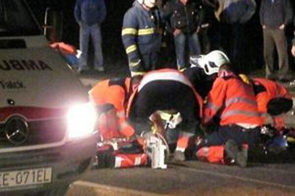 Cyklistka. Devastačným zraneniam na mieste podľahla.