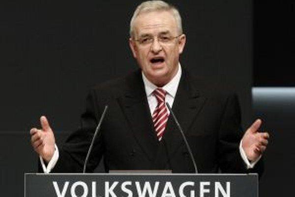 Predseda správnej rady najväčšieho európskeho automobilového koncernu Martin Winterkorn.