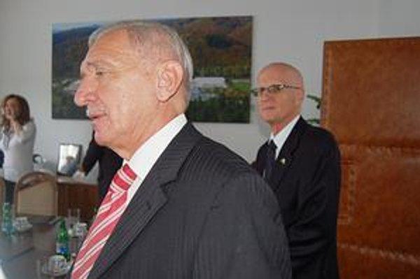 Darko Karlovský. Predseda predstavenstva košickej spoločnosti Strip, pod ktorú firma Kovozink patrí.