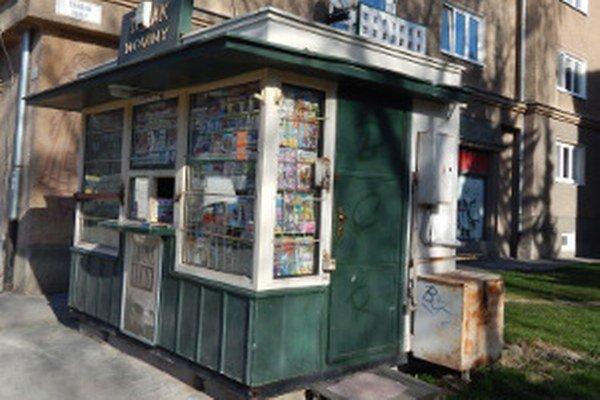 V Prievidzi sa dá víno kúpiť aj v niektorých novinových stánkoch.