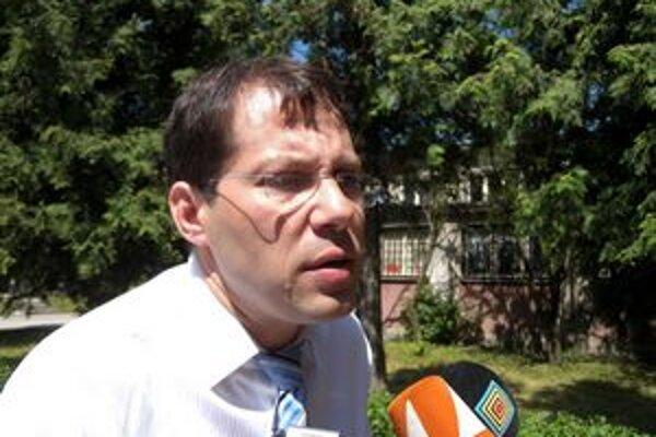 Primátor Tornale Ladislav Dubovský.