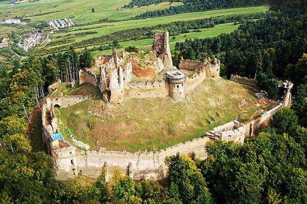 Zborovský hrad.