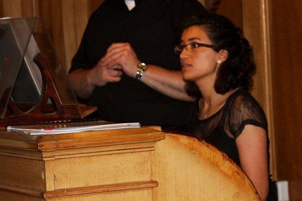 Ana Maria Ospina otvorila bardejovský festival organovej hudby.