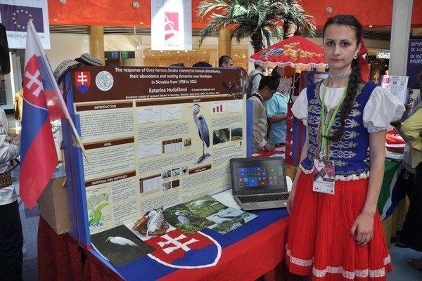 Katarína Hudačková reprezentovala Slovensko a zvíťazila v Tbilisi.