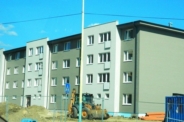 Vo Svidníku rastie nová stavba. Bude v nej bývať 33 rodín.