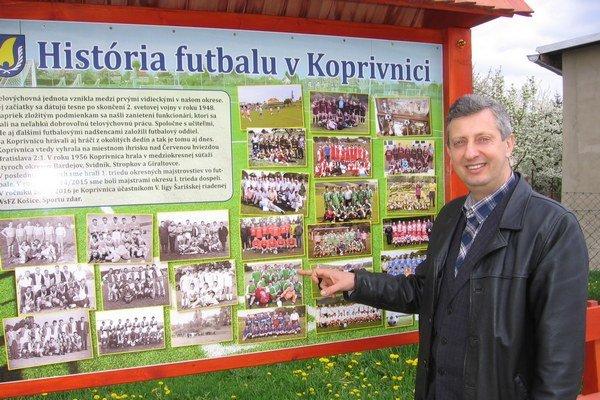 Starosta obce Koprivnica v okrese Bardejov Peter Krupa.