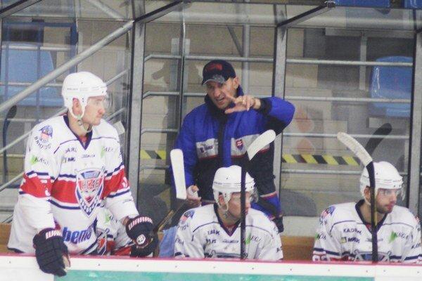 Tréner Ján Vodila má dosť zranených hráčov.