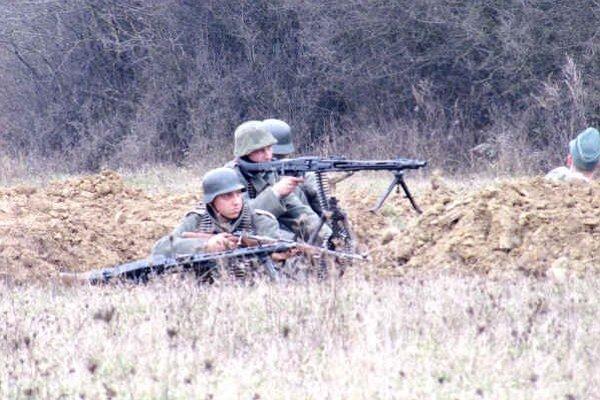 Ukážky bojov. Priblížili udalosti z jesene 1944.
