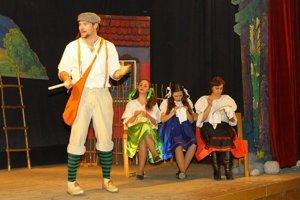 Divadelné predstavenie v Kurime. Kurimskí ochotníci ho odohrali na Štefana aj na Tri krále.