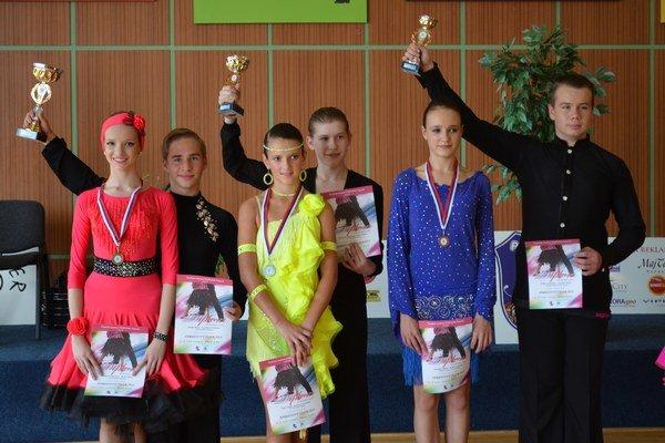 Parketový tiger 2014. 1. miesto Oliver Desák a Barbara Tančinová.