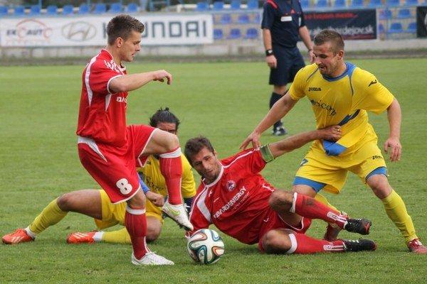 V šlágri kola sa zrodila remíza. Tretí Bardejov uhral bod s lídrom z Michaloviec.