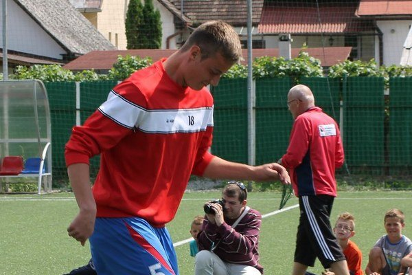 Dávid Berežný čaká na šancu v prvom tíme Catanie.