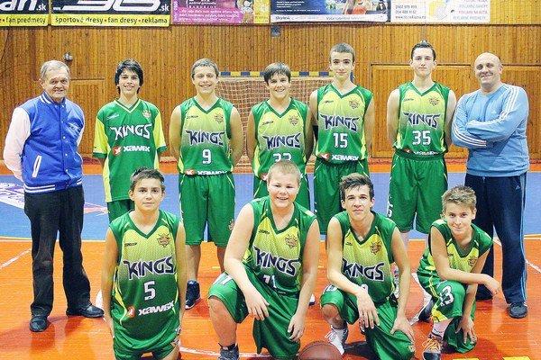 Kings Bardejov. Kadetský tím.