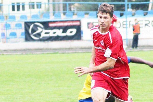 Szymon Gruca. Dal jediný gól Bardejova.