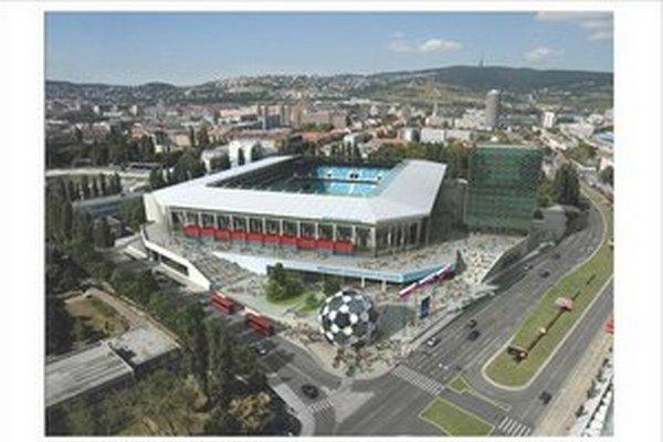Takto mal vyzerať štadión, s ktorým počítala prvá Ficova vláda.