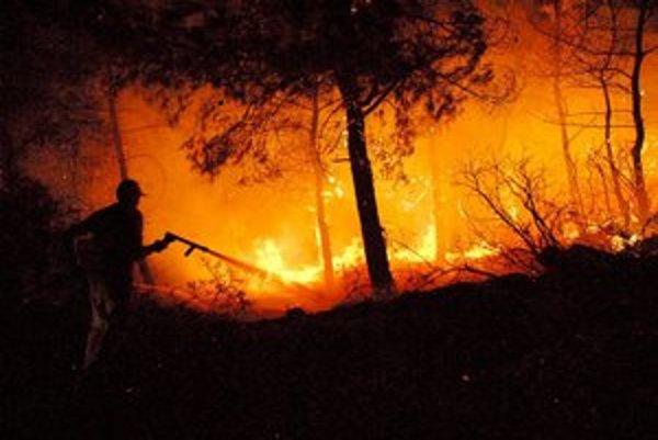 Aj takto môže dopadnúť pálenie suchej trávy.