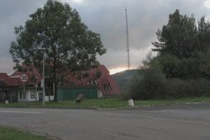 Poľsko-slovenská hranica nad Becherovom.