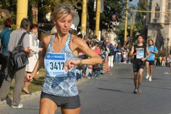 Na Medzinárodnom maratóne mieru v Košiciach si titul majsterky Slovenska vybehala Ingrid Petnuchová.