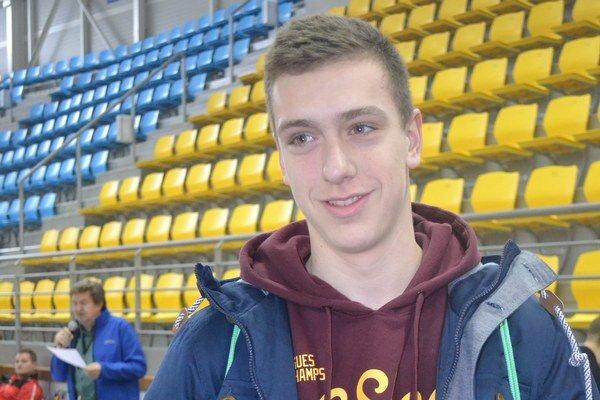 Najlepší hráč 3. ligy. Ľubomír Pankovčin (FK Humenné).