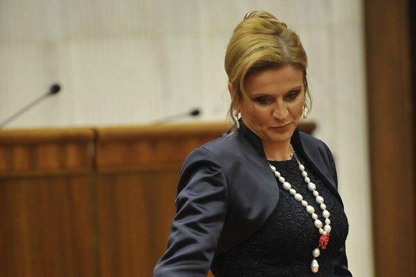 Primátorka Humenného Jana Vaľová odišla z rokovania Valného zhromaždenia.