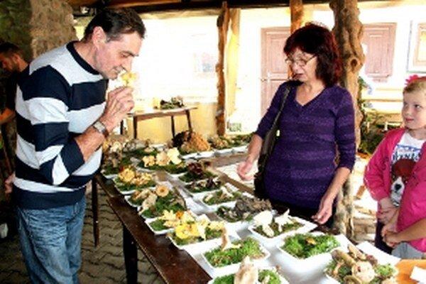 Na výstave boli jedlé, nejedlé aj jedovaté huby.