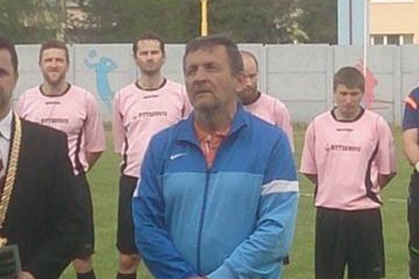 Oslávenec Vladimír Ceperko.