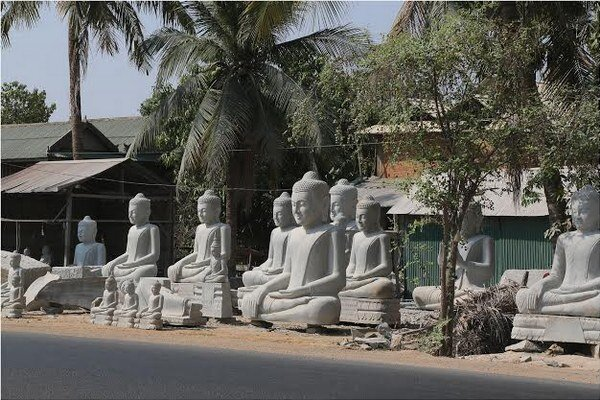 Siam Reap. Mesto dýcha históriou.