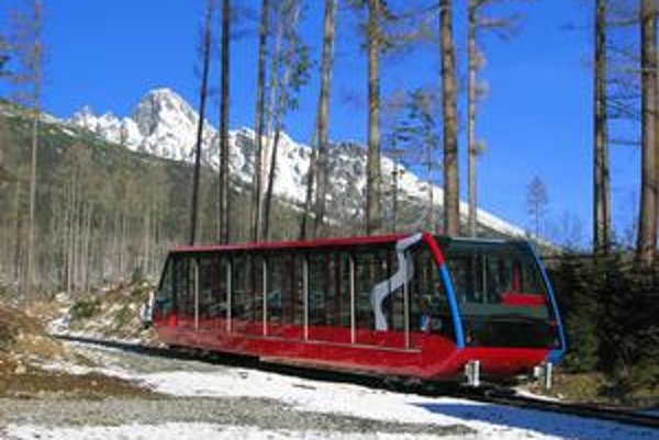 Pozemná lanovka patrí firme Tatry mountain resorts roky, pozemok pod ňou získala až minulý týždeň.