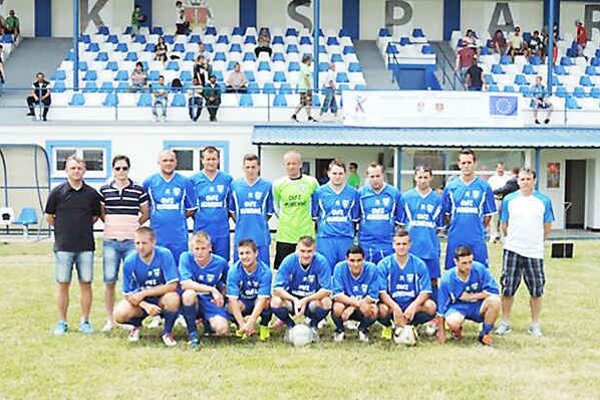 Výber ObFZ Humenné. Víťaz futbalového turnaja 52. ročníka Festivalu kultúry a športu v Medzilaborciach.