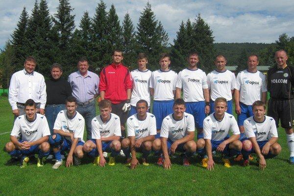 Aktuálny líder. OFK Agrifop Stakčín - Piata liga (sk. Vihorlatsko-dukelská).