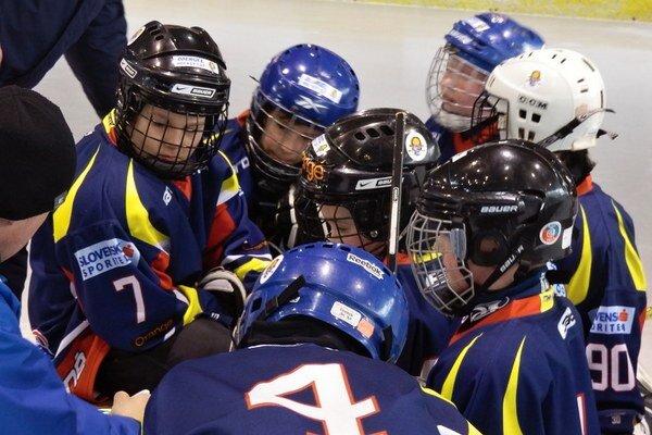 Malí humenskí hokejisti.