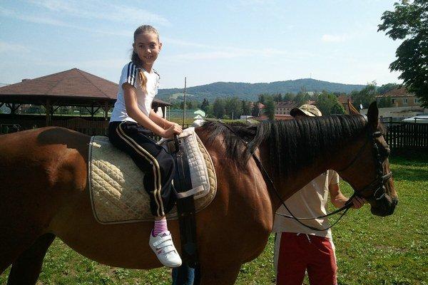Sheryle Djordjević na koni.
