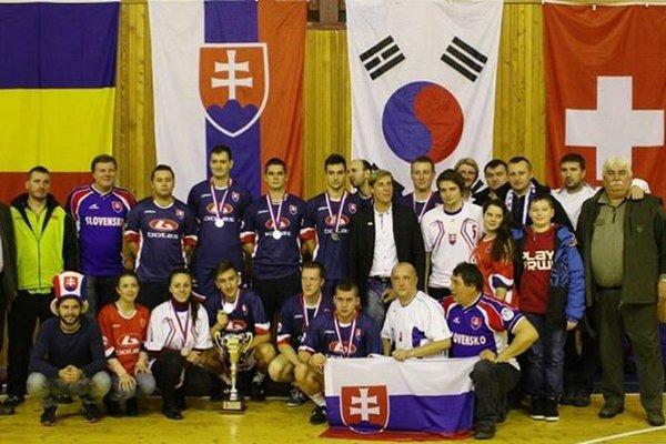 Slovenská delegácia na MS v Brandýse.