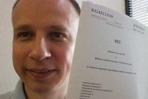 Martin Daňo čelí obvineniu z ohovárania.