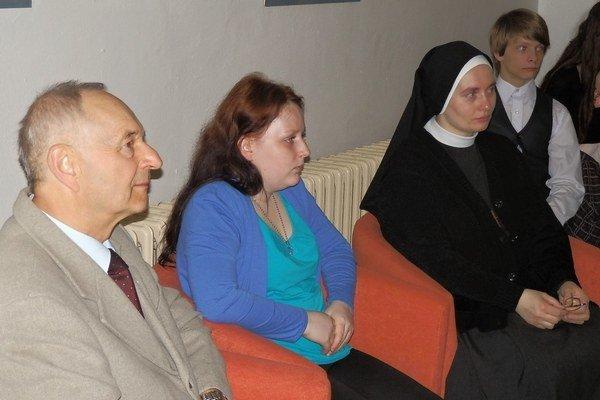 Živé knihy - Andrej Sivčo, Kristína Mindáková, sestra Salezia.