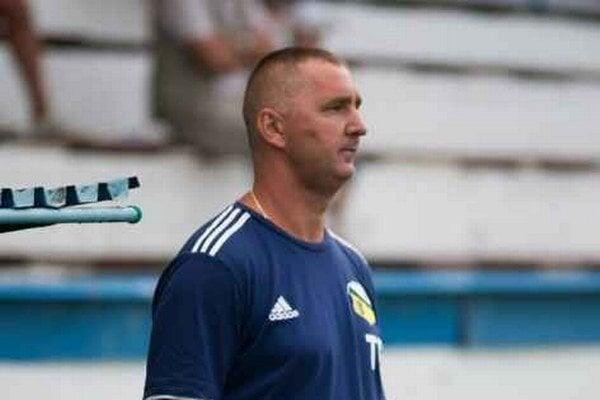 František Hanc. Tréner a manažér MFK Snina v jednej osobe.