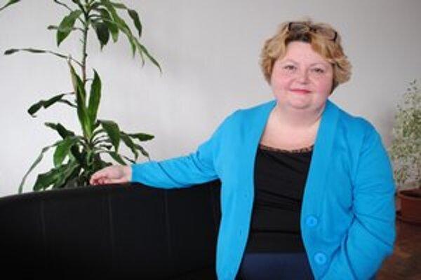 Tatiana Hájniková. O stévii po prvýkrát počula vo Francúzsku.