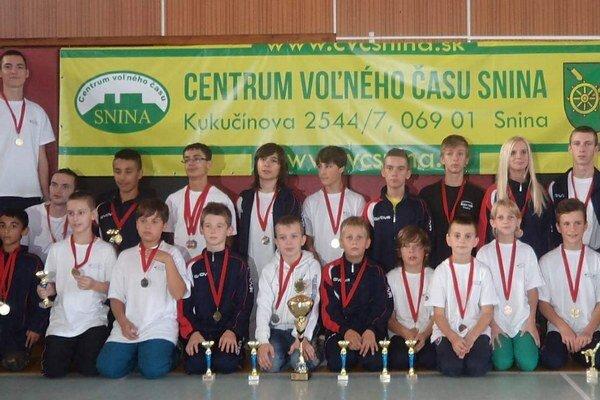 Black Tiger taekwondo Snina. Stal sa víťazom 3. kola Slovenského pohára.