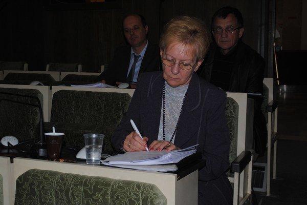 Anna Capová. Je predsedníčkou Krajskej organizácie Únie žien Slovenska v Prešove už 15 rokov.