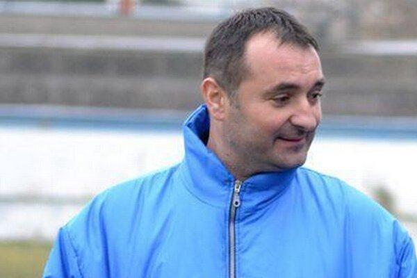 Martin Tongeľ. Humenský tréner bol spokojný najmä s nasadením.