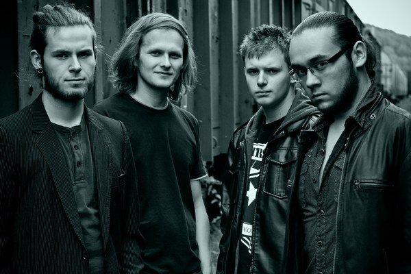 Kapela Roksound. Tvoria ju mladí Medzilaborčania.