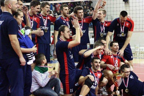 Ďalší úspech. Víťaz Slovenského pohára už má aj historický bronz z MEVZY.