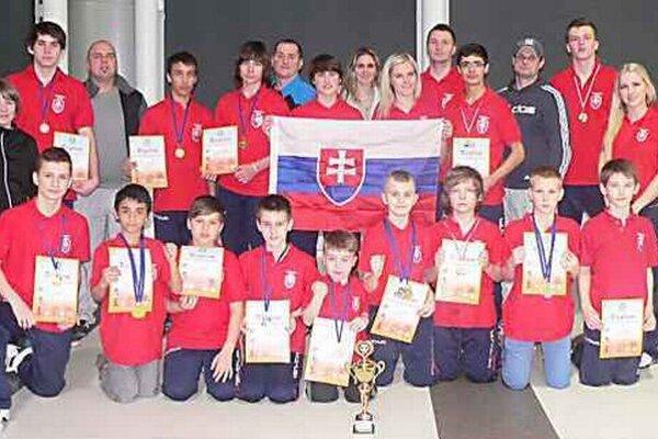 Skvelý úspech. Sninskí taekwondisti opäť výborne reprezentovali klub i mesto.