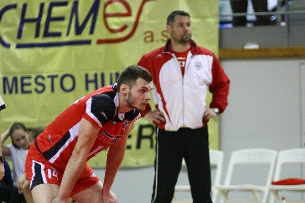 Erik Digaňa. S jeho výkonom bol tréner Šalata spokojný.