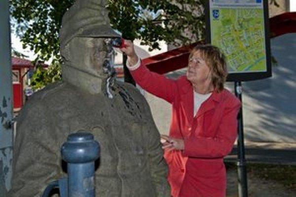 O sochu Švejka sa v Humennom starajú.